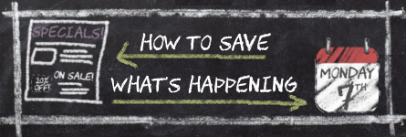 How To Save – What's Happening